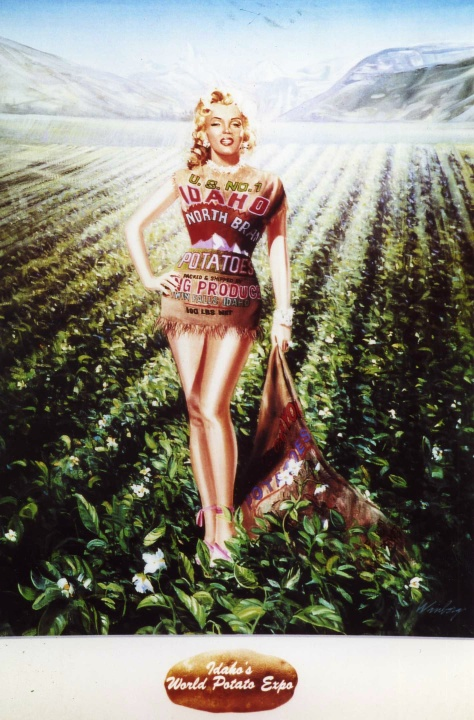 die Kartoffel mit Marilyn